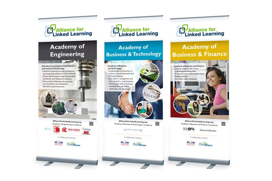 Alliance for Linked Learning Retractable Banners