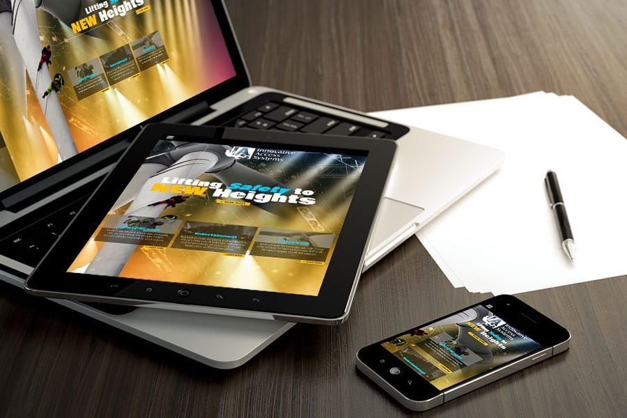 IAS WordPress Website design ventura