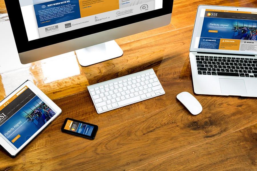 SSI Responsive Website Design