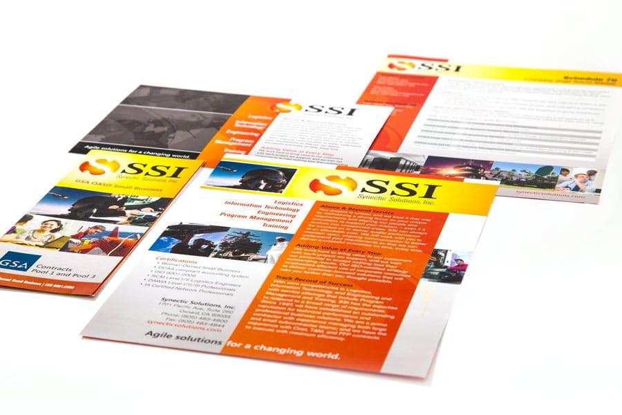 SSI Brochure Design
