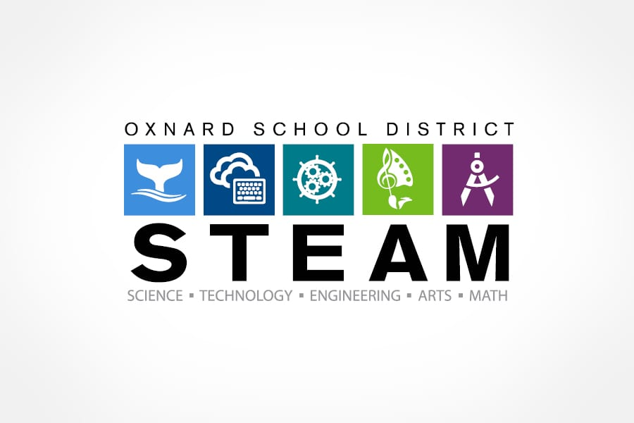 Oxnard STEAM logo