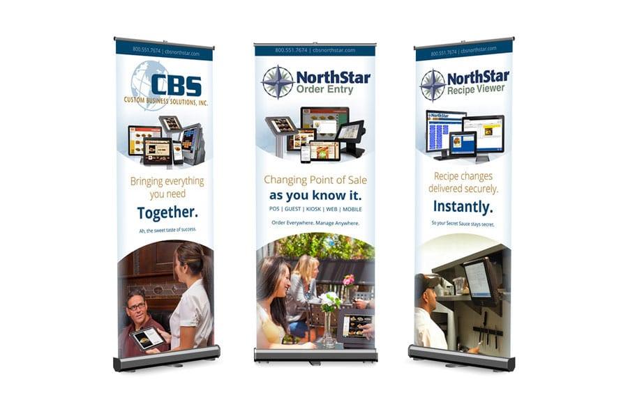 CBS Retractable Banner