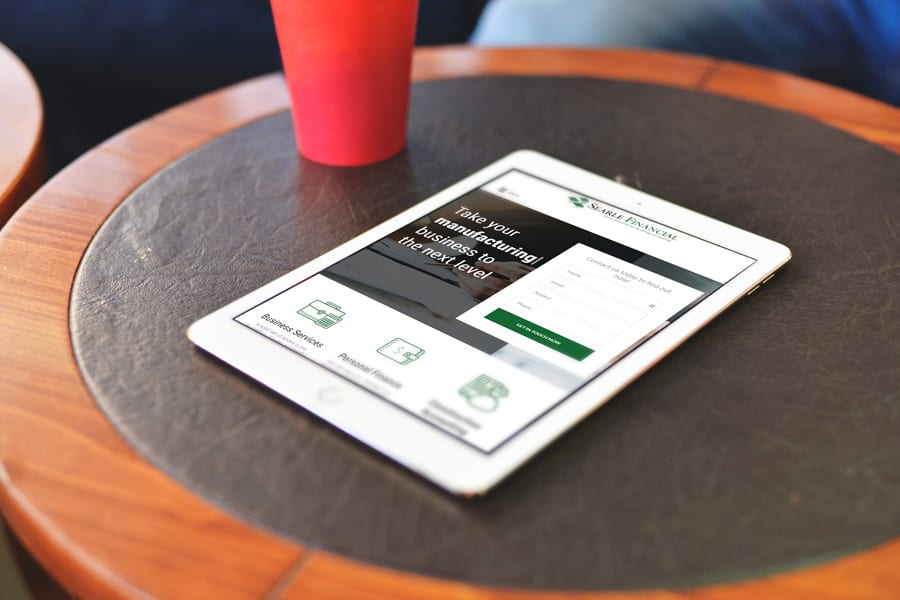 Searle Financial Website