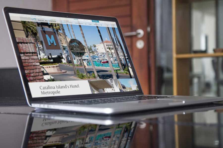 Hotel Metropole Website