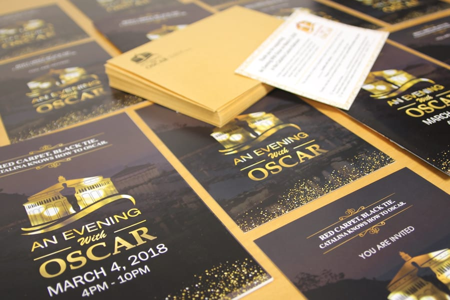 CIMCF An Evening with Oscar Program Invites