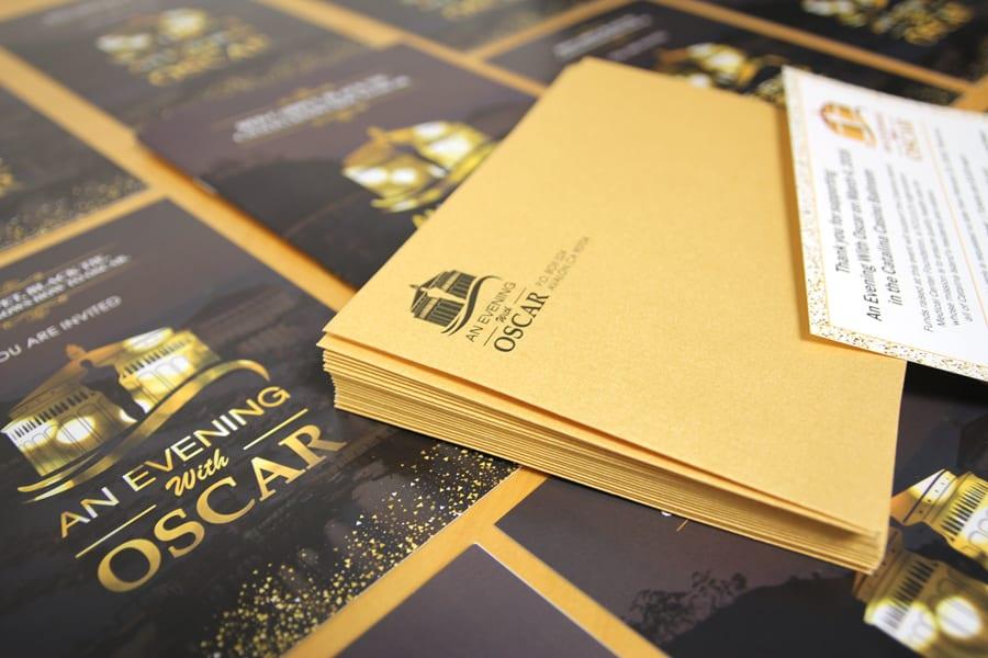 CIMCF An Evening with Oscar Invitation Mailer