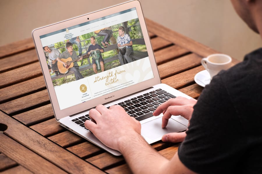 Chabad Treatment Center Website