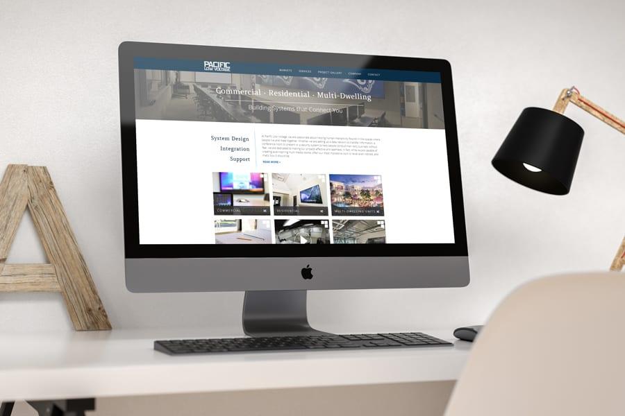 Pacific Low Voltage Website