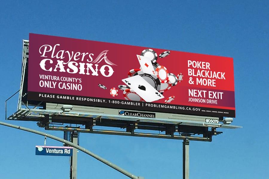 Players Casino Billboard