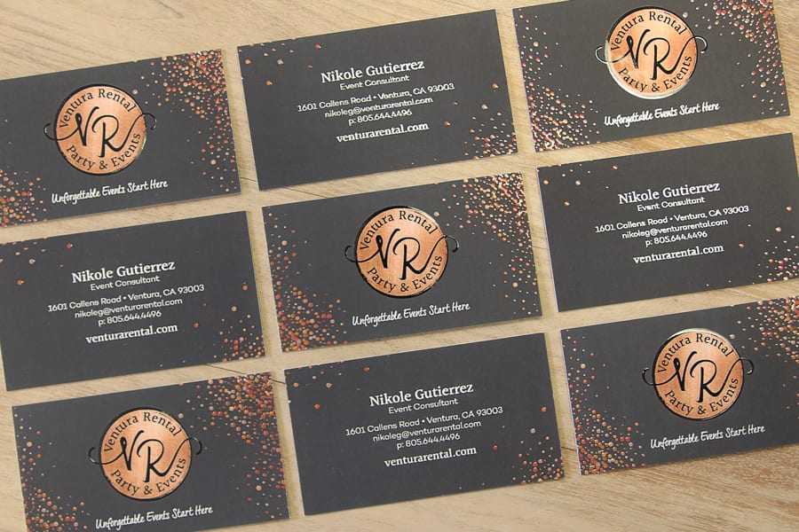 Ventura Rental Business Cards