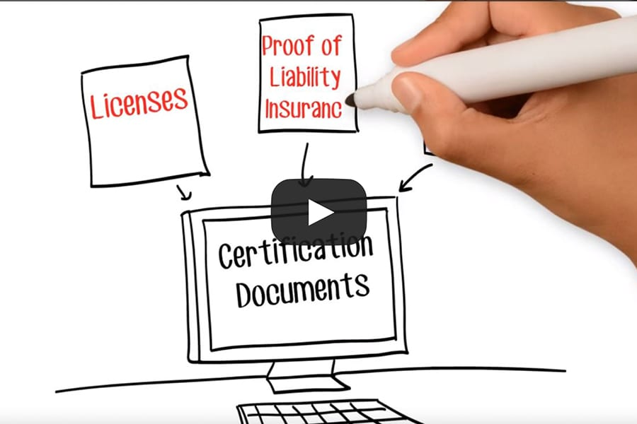 Contractor Certs Video Thumbnail