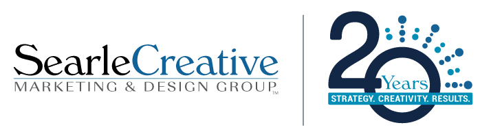 Searle Creative 20 Year Anniversary Logo