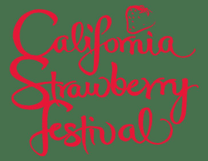 California Strawberry Festival Logo