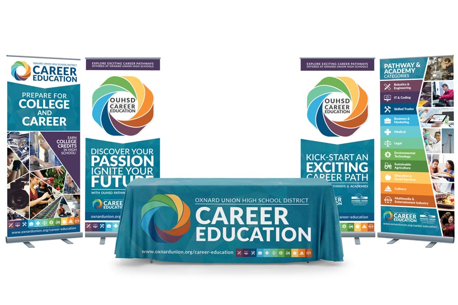 Career Education Promo Design