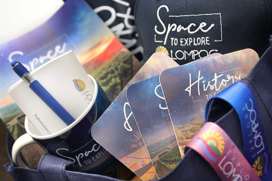 'Explore Lompoc' Swag Giveaway